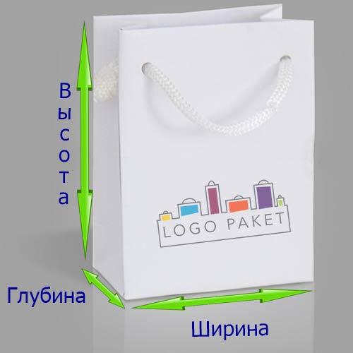 Схема пакета со стрелками показывающими размеры пакетов
