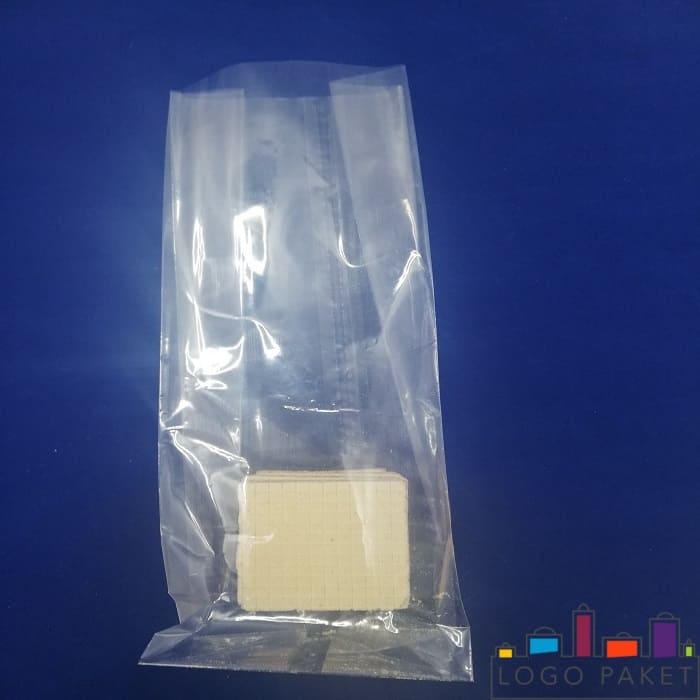 прозрачный бопп пакет с вафлей