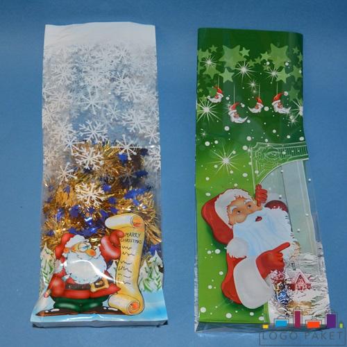 БОПП-пакеты с рисунком подарочный