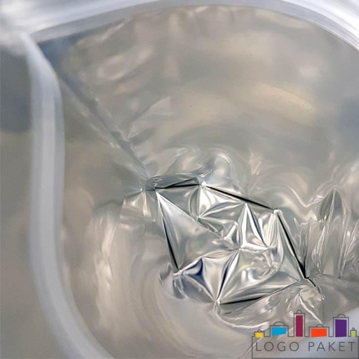 Металлизация дой пак пакета серебром