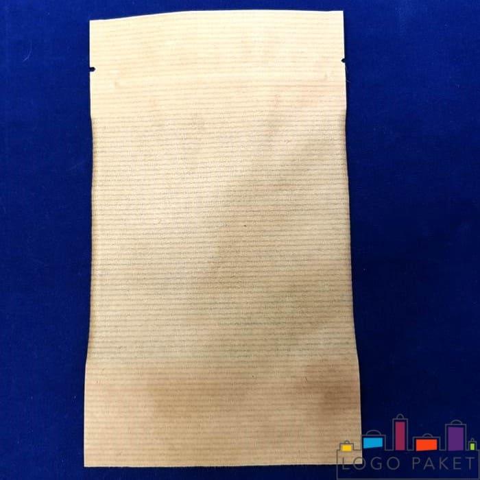 Обратная сторона дой пак пакета со смотровым окном