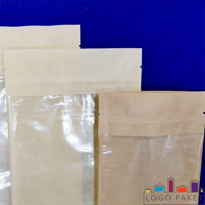 Дой пак пакеты со смотровым окном в ассортименте