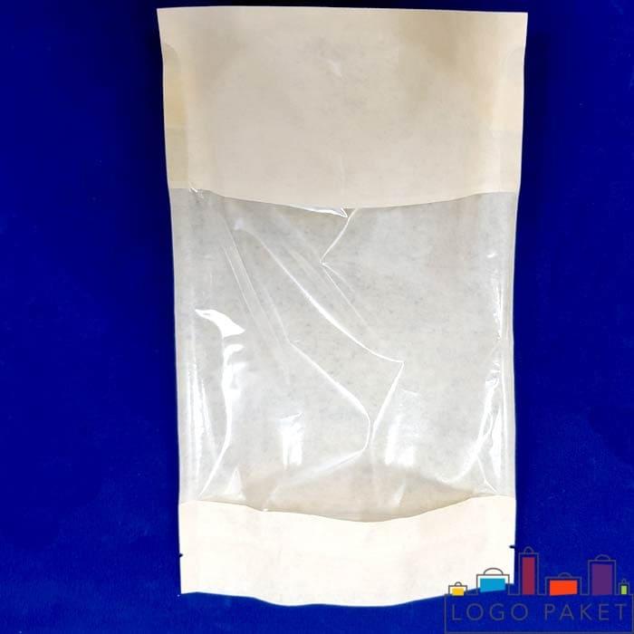 Пакеты дой пак с прозрачным окном