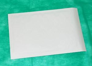 образец белого конверта крафт 170х220 мм