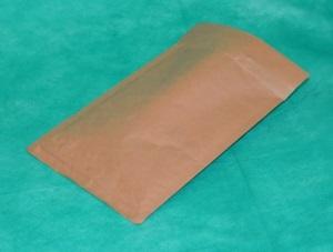 образец коричневого конверта из крафт-бумаги 130х170 мм