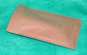 образец коричневого конверта из крафт-бумаги 140х220 мм