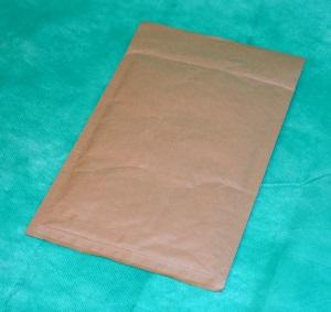образец коричневого конверта из крафт-бумаги 170х200 мм
