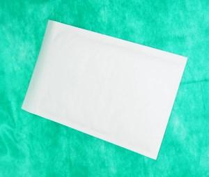 образец белого конверта крафт 370х480 мм