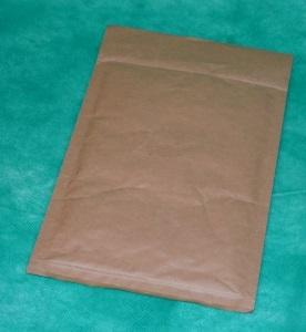 образец коричневого крафт-конверта 200х270 мм