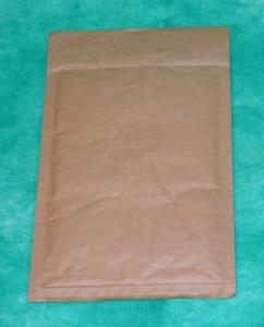 образец коричневого конверта из крафт-бумаги 240х270 мм