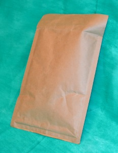 образец коричневого конверта крафт 240х340 мм