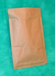 образец коричневого конверта из крафта 250х340 мм