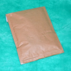 образец коричневого конверт-крафта 290х370 мм