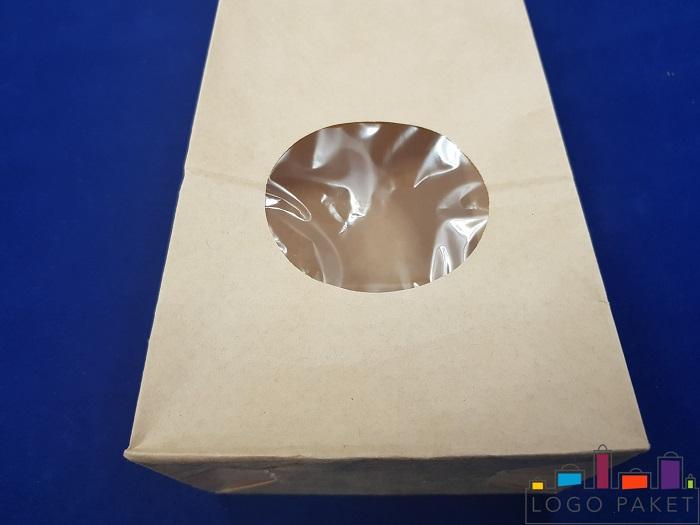 окошко крафт пакета без ручек