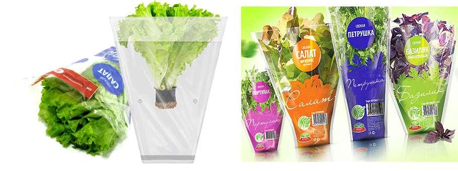 Пакеты для зелени