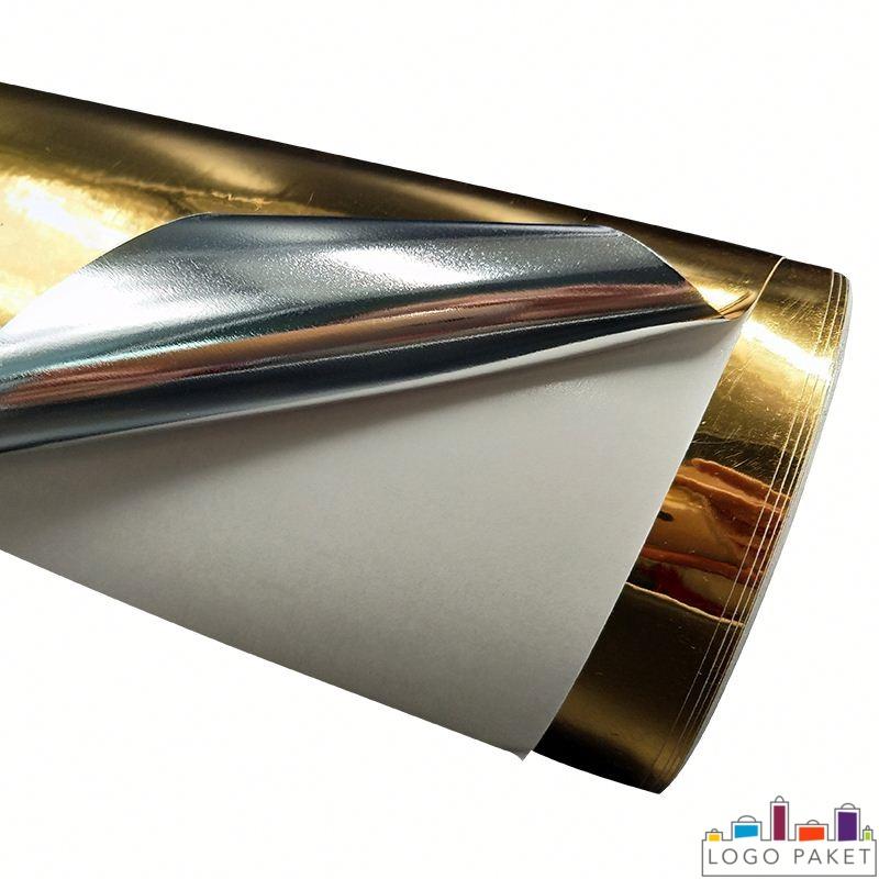 ПЭТ пленка металлизированная, золотого цвета