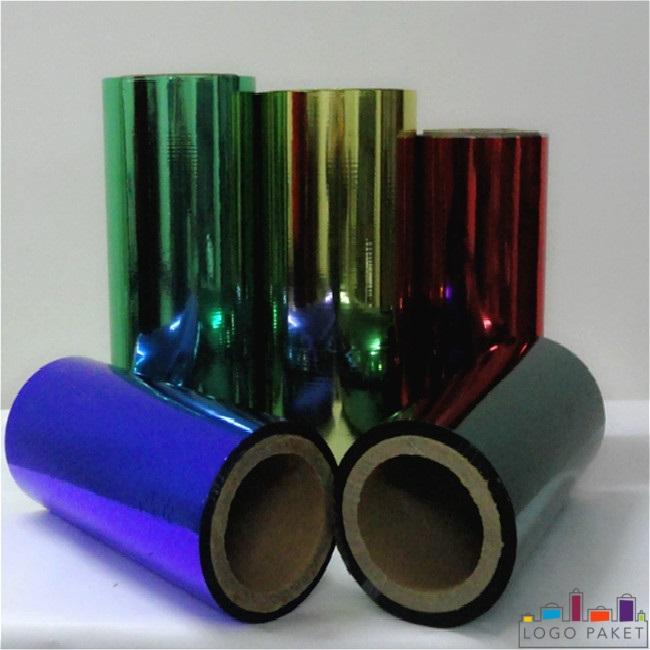 ПЭТ пленка металлизированная глянцевая, разных цветов