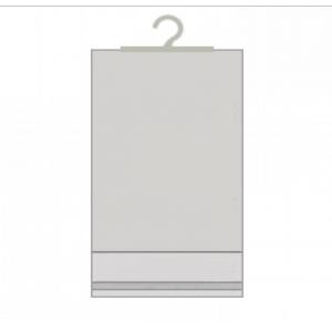 пример полипропиленового пакета с крючком и клеевым клапаном