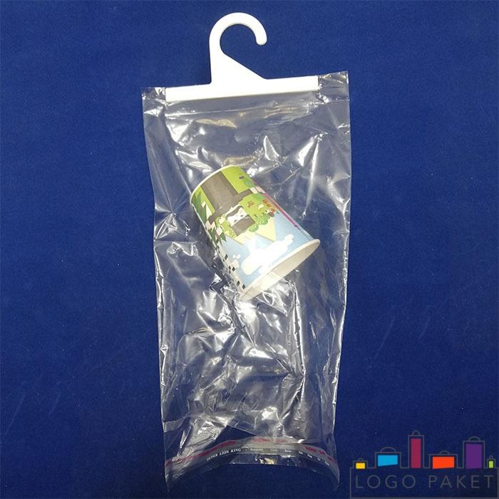полипропиленовый пакет с клеевым клапаном и крючком