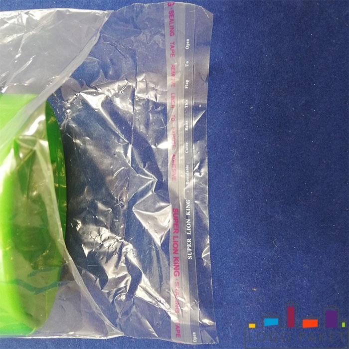 клеевой клапан полипропиленового пакета с крючком