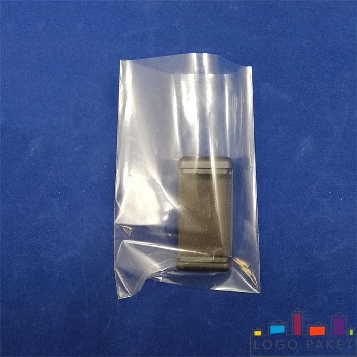пример полипропиленового пакета без клапана прозрачного с деталью