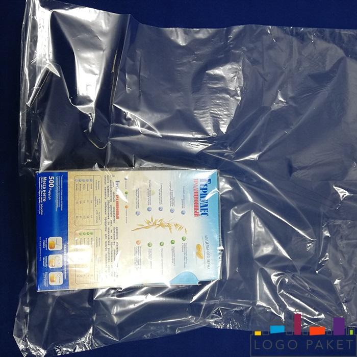 пп пакет прозрачный с коробкой геркулеса внутри