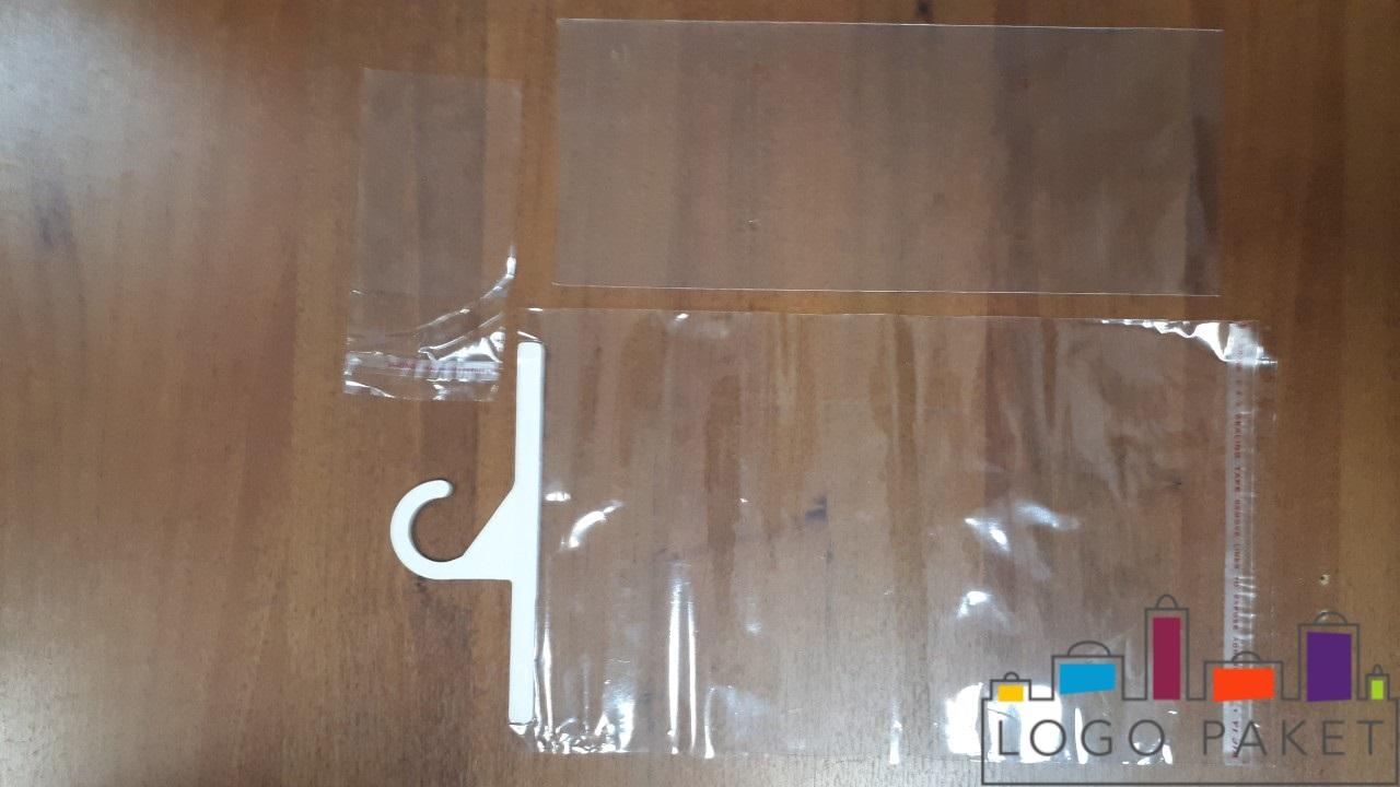 полипропиленовые пакеты с крючком, без клапана
