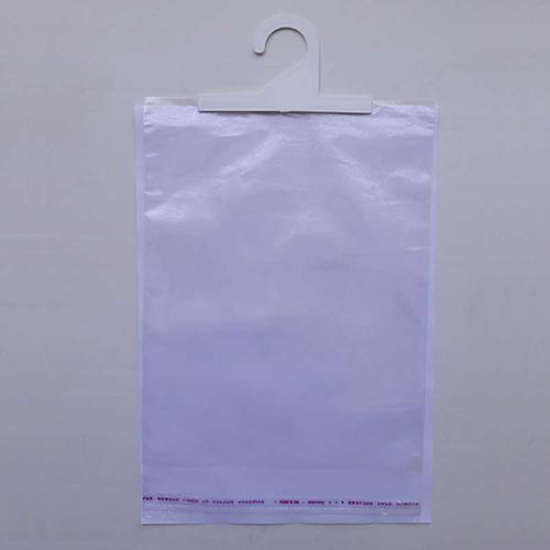 Пакет полипропиленовый с крючком и клеевым клапаном