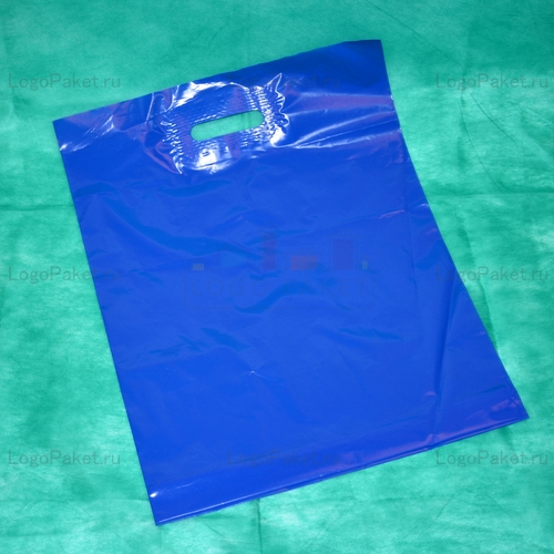 Пакет из псд синий
