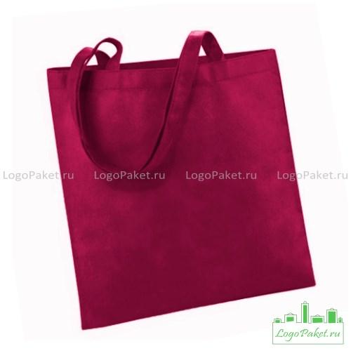 красная сумка из спанбонда
