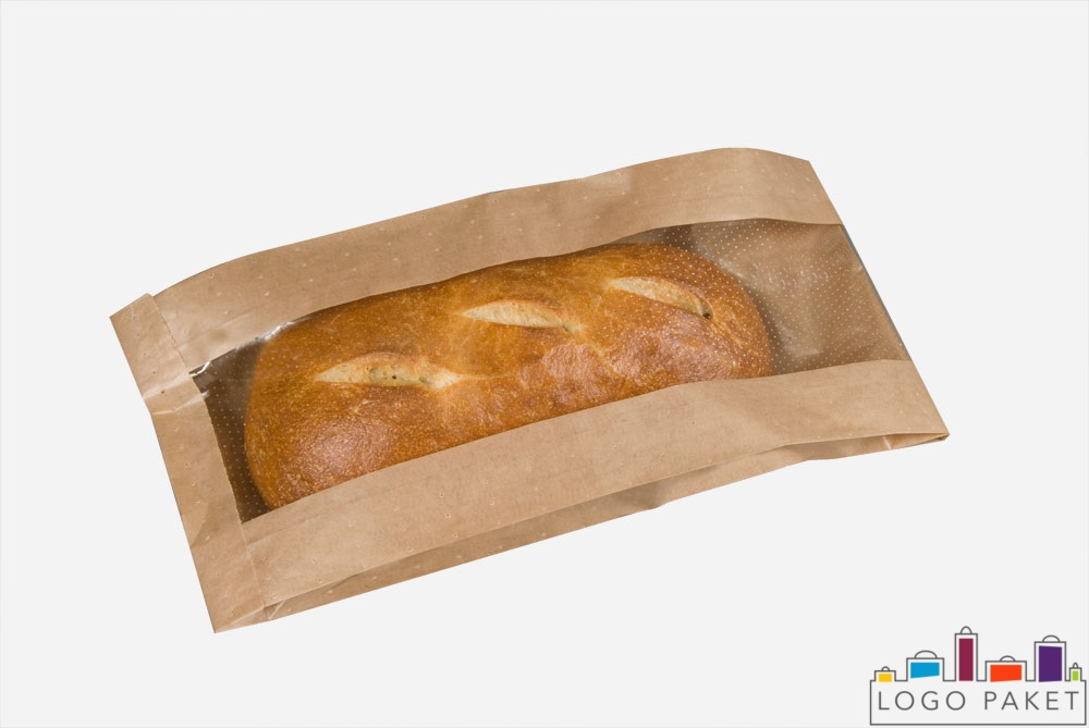 пакет для хлеба из крафт бумаги