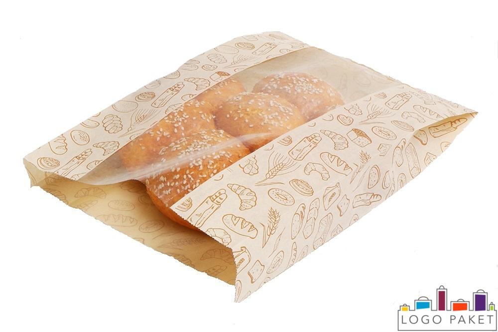 булочки в пакете крафт