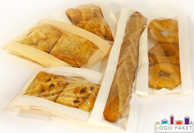 бумажные пакеты для хлеба с прозрачным окошком