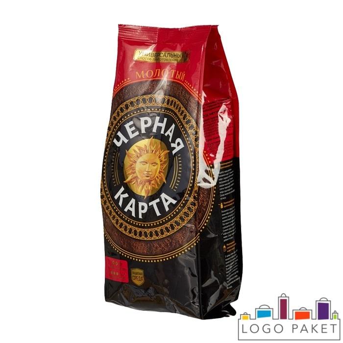 Пакет с боковыми складками для растворимого кофе без клапана дегазации
