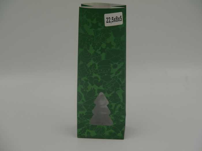 пакет крафт зеленый