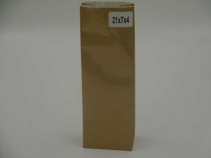 пакет крафт коричневый