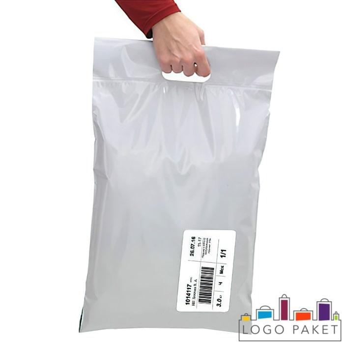 Курьерские пакеты с вырубной ручкой