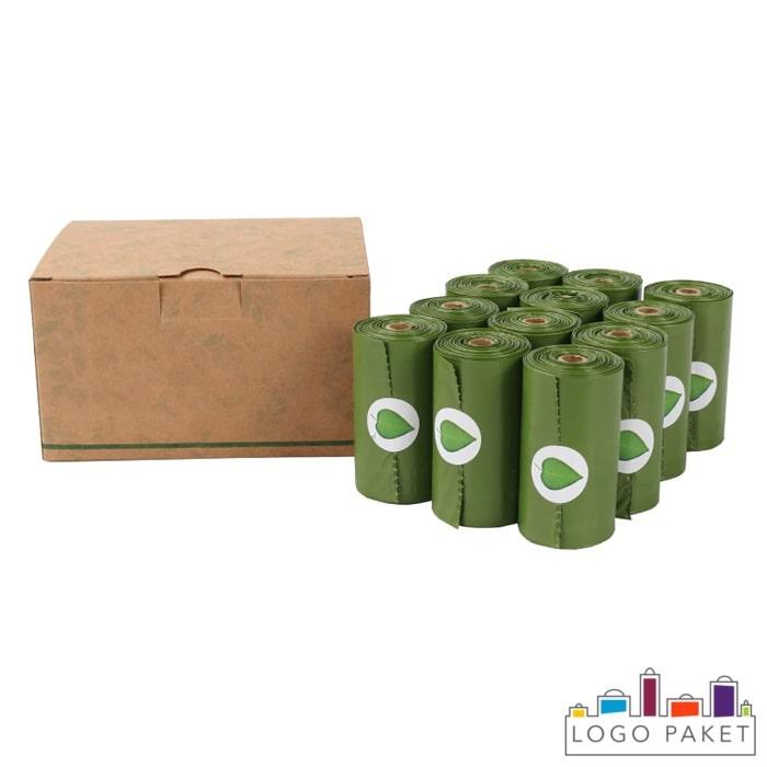 Пакеты для мусора биоразлагаемые из кукурузы