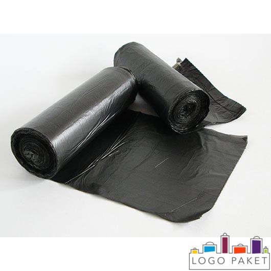 Черные пакеты для мусора