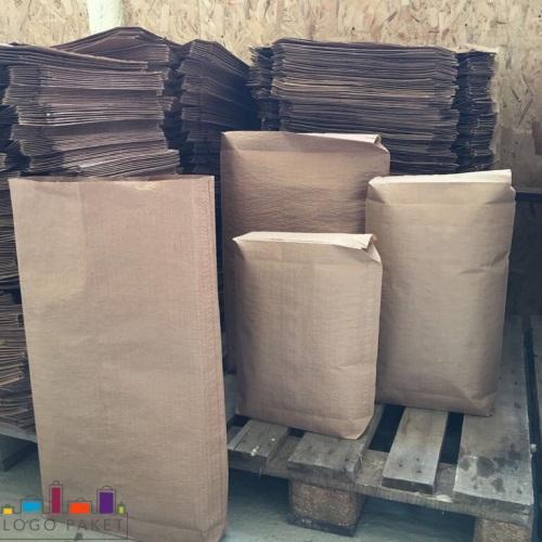 Пакеты для цемента в ассортименте