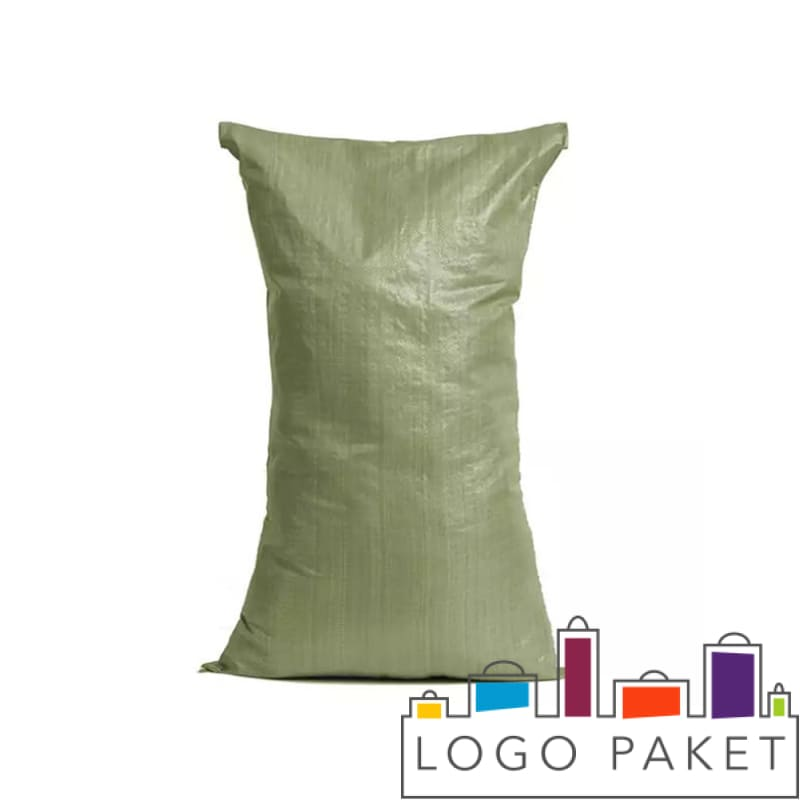 Зеленые полипропиленовые мешки