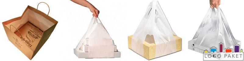 Примеры пакетов для коробок