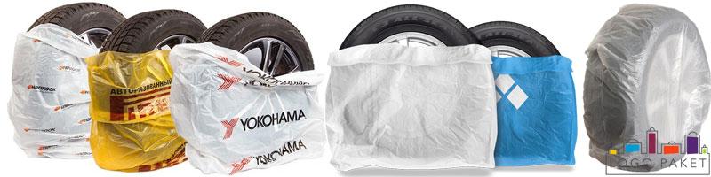 Примеры ассортимента пакетов для шин