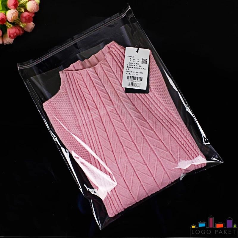 розовый свитер в бопп пакете