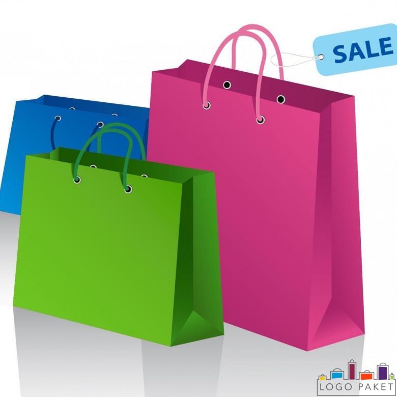 Крафт пакеты для одежды, для розничной продажи
