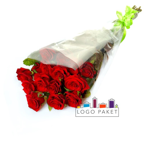 Конусные пакеты для цветов