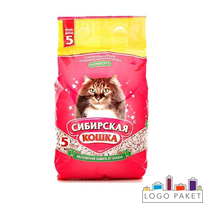 Заказать печать  на пакетах для кошачих туалетов