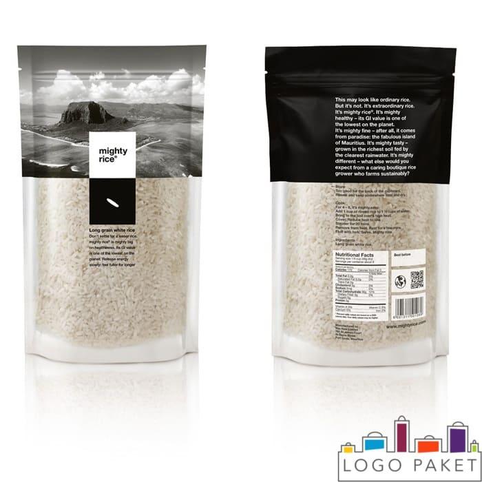 Рис в упаковке