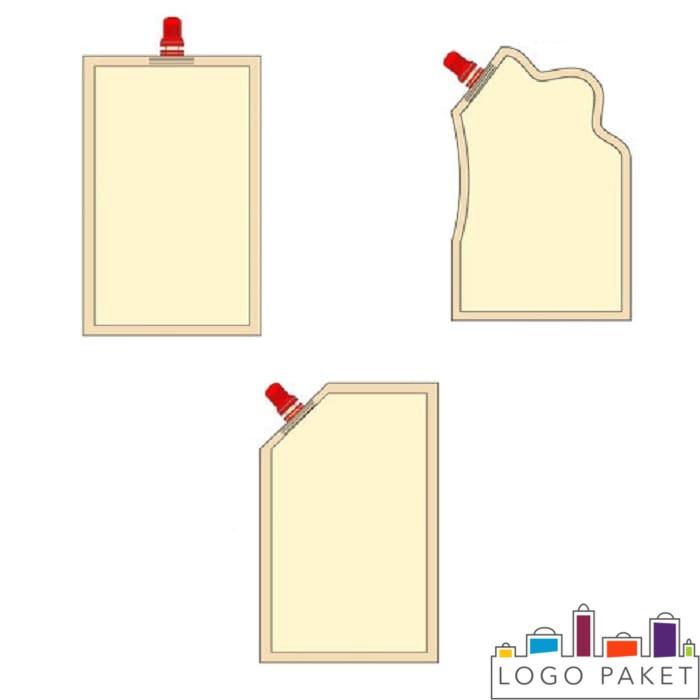 Формы пакета для майонеза