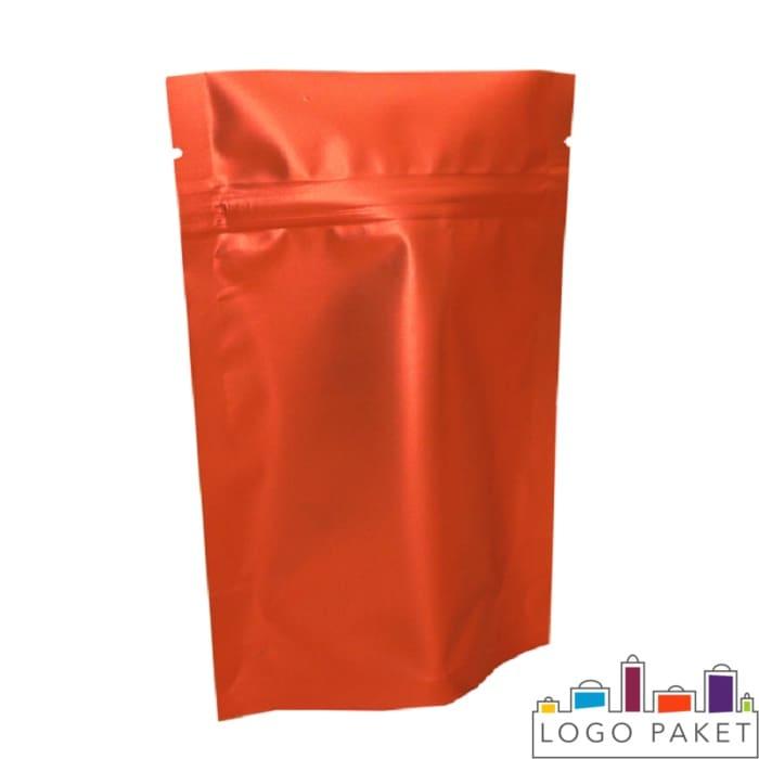 Пакет красный дой пак для фасовки семечек